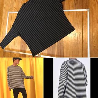ラッドミュージシャン(LAD MUSICIAN)の定価28,080円 dolman sleeve border(Tシャツ/カットソー(七分/長袖))