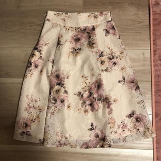 MISCH MASCH - ミッシュマッシュ 花柄スカート