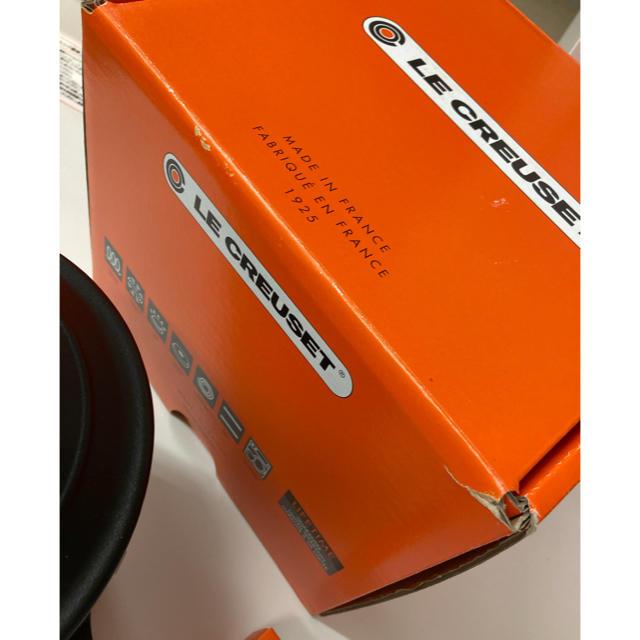 LE CREUSET(ルクルーゼ)のル・クルーゼ ココット・エブリィ 18 マットブラック インテリア/住まい/日用品のキッチン/食器(鍋/フライパン)の商品写真