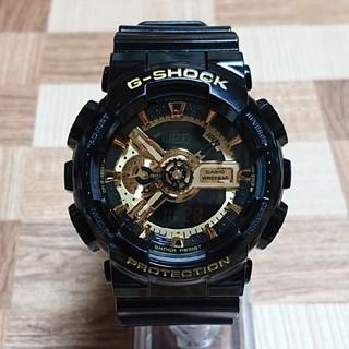 ジーショック(G-SHOCK)の【CASIO/G-SHOCK】デジアナ メンズ腕時計 GA-110GB-1AJF(腕時計(デジタル))