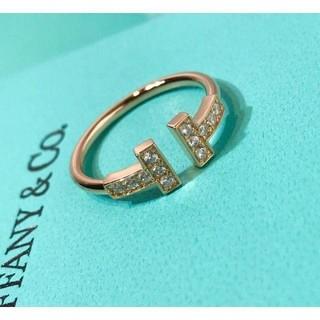 ティファニー(Tiffany & Co.)のTiffany & Co. ファニーT字リング(リング(指輪))