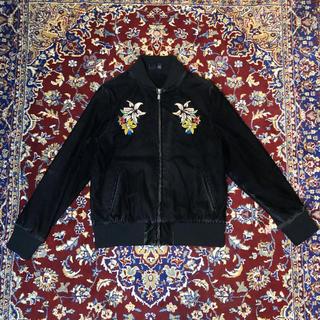 グッチ(Gucci)の90s VINTAGE velours souvenir jacket(ブルゾン)