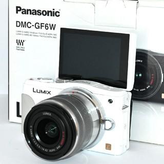 Panasonic - 【Panasonic】自撮り&Wi-Fi!!DMC-GF6レンズキット
