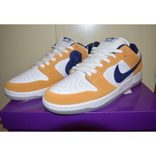 ナイキ(NIKE)のNIKE DUNK SB LOW laser orange ダンクsb 29cm(スニーカー)