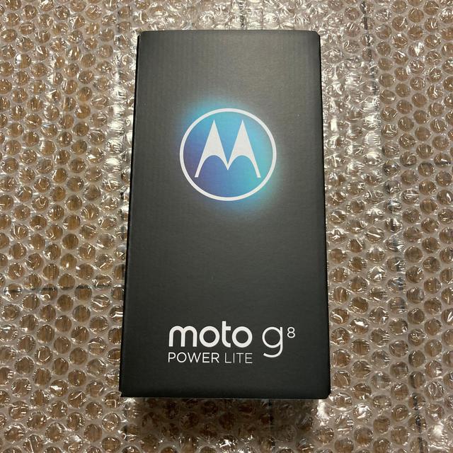 ANDROID(アンドロイド)のモトローラ moto g8 power lite ポーラブルー スマホ/家電/カメラのスマートフォン/携帯電話(スマートフォン本体)の商品写真