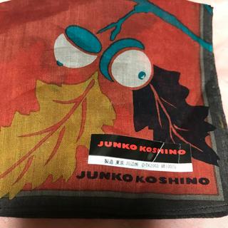 コシノジュンコ(JUNKO KOSHINO)のジュンココシノどんぐりハンカチ新品(ハンカチ)