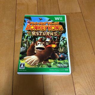ウィー(Wii)のドンキーコング リターンズ Wii(家庭用ゲームソフト)