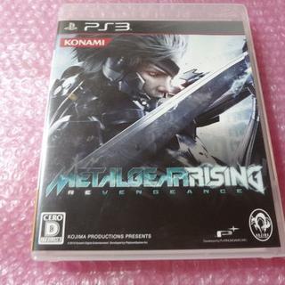 プレイステーション3(PlayStation3)のPS3 メタルギア ライジング !メタルギアがキレた__⇒送料無料(家庭用ゲームソフト)