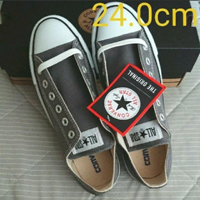 CONVERSE(コンバース)のコンバース グレー 24 レディースの靴/シューズ(スニーカー)の商品写真