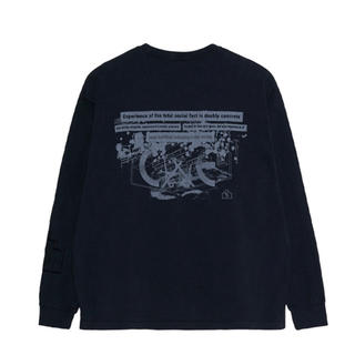 BEAMS - cavempt c.e  SOCIETY HEAVY LONG SLEEVE T