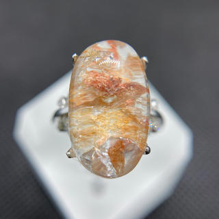 クォーツ  インクォーツ   リング 天然石(リング(指輪))