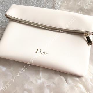 Christian Dior - 【新品箱なし】ディオール 海外限定 スリムポーチ クラッチバッグ 折りたたみ