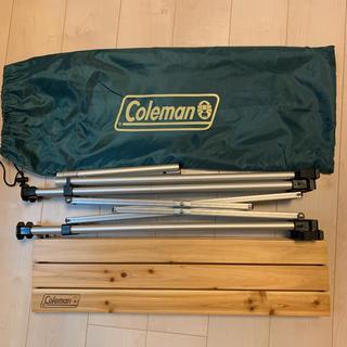 Coleman - コールマン ナチュラルウッドロールテーブル 90 2~4人用
