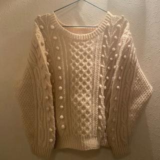 トゥデイフル(TODAYFUL)の♡used cream knit♡ フィッシャーマンニット アランニット(ニット/セーター)