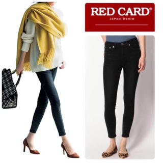 DEUXIEME CLASSE - RED CARD レッドカード Sideway スキニーデニム 新品ブラック25