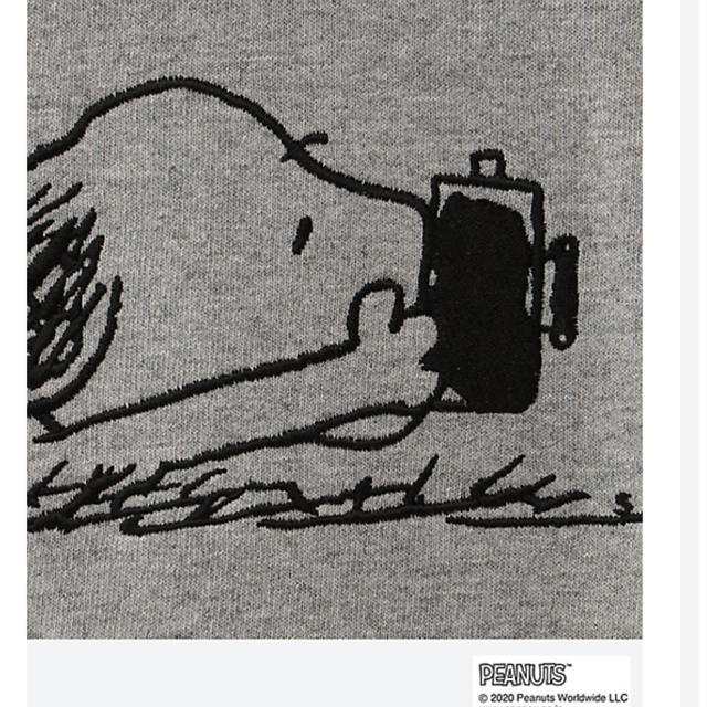 SEA(シー)のスヌーピーin銀座2020  銀座三越限定 スヌーピーTシャツ メンズのトップス(Tシャツ/カットソー(半袖/袖なし))の商品写真