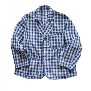 ポータークラシック パラカ テーラードジャケット インディゴ(テーラードジャケット)