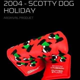 スコッティキャメロン(Scotty Cameron)のスコッティキャメロン 2004年 ホリディ パターカバー スコッティ ドック(その他)