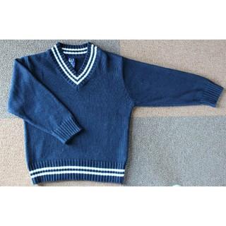 ギャップ(GAP)の【超美品】GAPニットセーター 120cm 紺色(ニット)