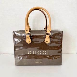 Gucci - グッチ クリアバッグと紙袋