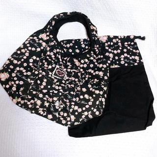 ピンクハウス(PINK HOUSE)のPINK HOUSE ピンクハウス トートバッグ 巾着 バッグ 花柄 新品(ハンドバッグ)