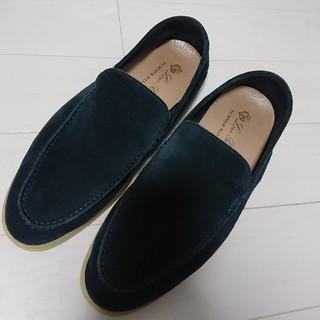 ロロピアーナ(LORO PIANA)のロロピアーナ  メンズ シューズ スエード 26 27  靴(スリッポン/モカシン)