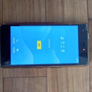 キョウセラ(京セラ)のQuaphone QZ ブラック KYV44(スマートフォン本体)