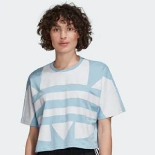 アディダス(adidas)のadidas☆ラージロゴTシャツ♡Mサイズ(Tシャツ(半袖/袖なし))