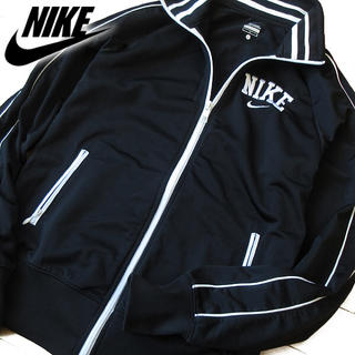 NIKE - 超美品 Lサイズ NIKE ナイキ レディース ジャージ/ジャケット ブラック