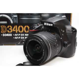 Nikon - ❤️スマホへ自動でシェア❤️Nikon D3400 レンズキット