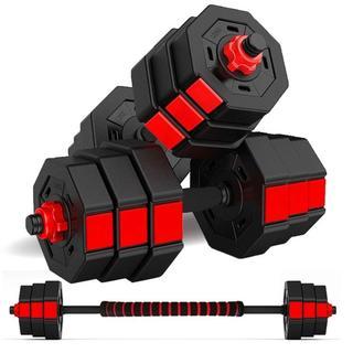 ダンベル 10kg × 2個セット 筋トレ グッズ ダンベルセット 鉄アレイ(トレーニング用品)
