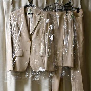 クミキョク(kumikyoku(組曲))の※専用【クリーニング済・美品】組曲 パンツ スカートスーツ 白(スーツ)