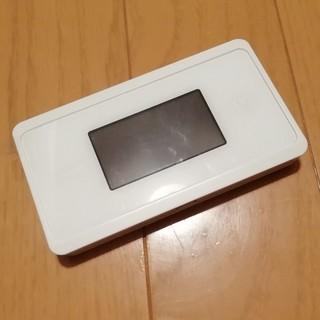 エヌイーシー(NEC)のwx06 モバイルルーター wimax(その他)