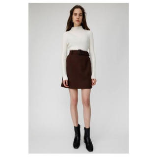 moussy - moussy ミニスカート 茶色