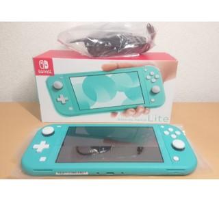 ニンテンドースイッチ(Nintendo Switch)のニンテンドースイッチ ライト ターコイズ(家庭用ゲーム機本体)