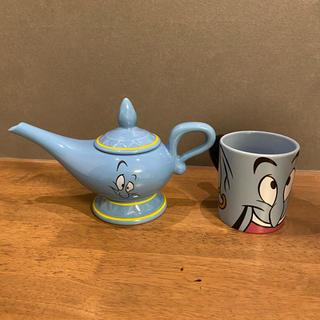 Disney - 【Disney】ジーニー 魔法のランプ ティーポット 急須&マグカップ