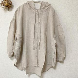 SM2 - Samansa Mos2 フードシャツ