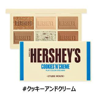 ETUDE HOUSE - エチュードハウス ハーシー プレイカラーアイズミニクッキーアンドクリーム