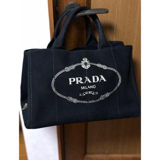 PRADA - プラダ カナパ トートバッグ ブラック