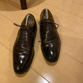 革靴 茶色 26 ビジネス(ドレス/ビジネス)