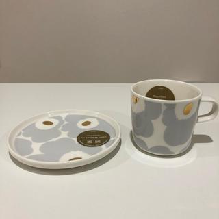 marimekko - マリメッコ ウニッコ コーヒーカップ プレート セット