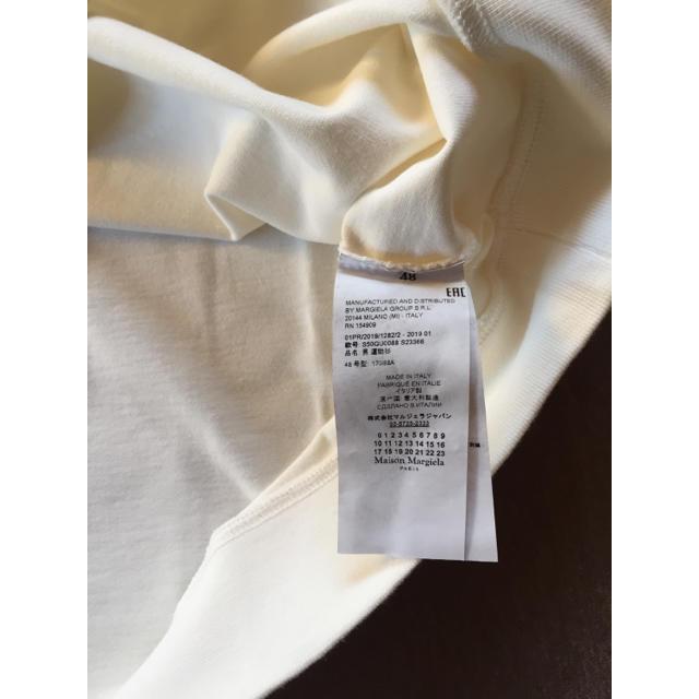 Maison Martin Margiela(マルタンマルジェラ)の48新品 メゾン マルジェラ カレンダーロゴ オーバーサイズ スウェット シャツ メンズのトップス(スウェット)の商品写真