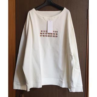 Maison Martin Margiela - 48新品 メゾン マルジェラ カレンダーロゴ オーバーサイズ スウェット シャツ
