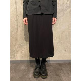 ヨウジヤマモト(Yohji Yamamoto)のヨウジヤマモト ウール ポケットデザインロングスカート #[757](ロングスカート)