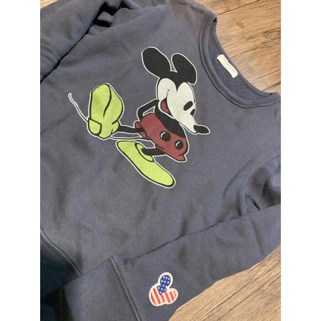 ampersand(アンパサンド)のAMPERSAND ミッキートレーナー キッズ/ベビー/マタニティのキッズ服男の子用(90cm~)(Tシャツ/カットソー)の商品写真