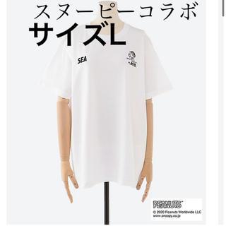 SEA - スヌーピーin銀座2020  銀座三越限定 スヌーピーTシャツ