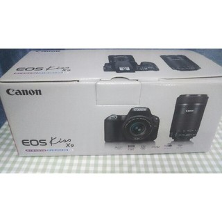 Canon EOS KISS X9 Wズームキット BK