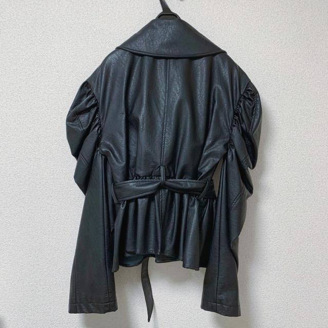 Honey mi Honey(ハニーミーハニー)のHONEY MI HONEY(ハニーミーハニー)レザージャケット レディースのジャケット/アウター(ライダースジャケット)の商品写真