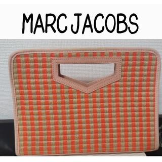 マークバイマークジェイコブス(MARC BY MARC JACOBS)の【美品】MARC JACOBS マークジェイコブス カゴバッグ クラッチバッグ(かごバッグ/ストローバッグ)