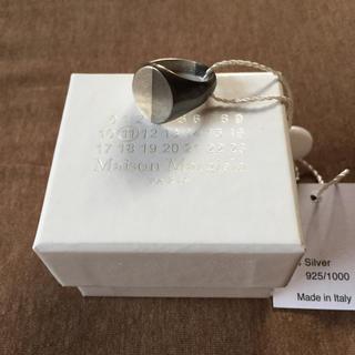 Maison Martin Margiela - XS新品 メゾン マルジェラ 2トーン リング 指輪 メンズ シルバー ブラック